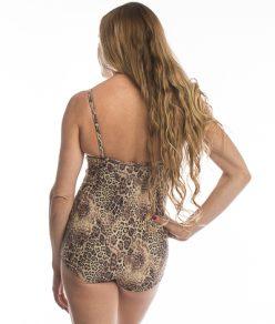 Anahata Yoga clothing womens leotard Cheetah