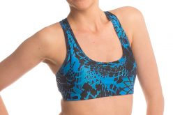 Anahata Yoga Clothing two pieces crop tops and bottoms. Blue Lotus crop top yoga short pant.