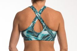 Key hole bra top Simple and stylish all in the one bra top Plenty of coverage with a scoop neck wide cross straps at the back create a keyhole and gives you even more support pocket for your favourite bra cup if you need The perfect top for all styles of Yoga, Pilates or Pole Dance class.