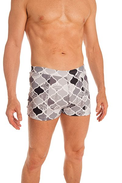 Anahata Yoga Clothing double front mens yoga short Casablanca