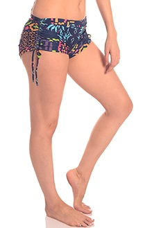 Anahata Yoga Clothing Marrakesh tie side shorts