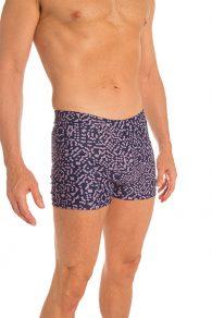 Anahata Yoga Clothing Mens Yoga Short. A classic and comfortable, printed basic slim fitting men's short perfect for Bikram or Hot Yoga.