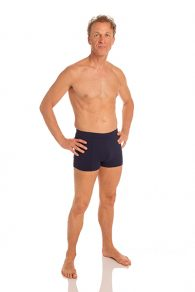 Anahata Yoga Clothing Mens Yoga Short. A classic and comfortable, solid basic slim fitting men's short perfect for Bikram or Hot Yoga.