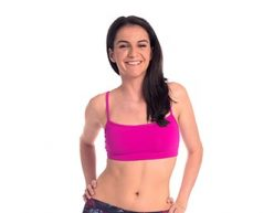 Anahata Yoga Clothing Hot Pink Basic Crop