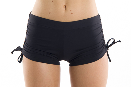 TieSideYogaShorts.Classicstyle,close fit,adjustabletiesides.PerfectforBikram,HotPilatesorPoleclass.
