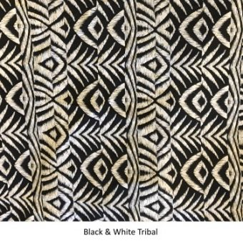 Black & White Tribal