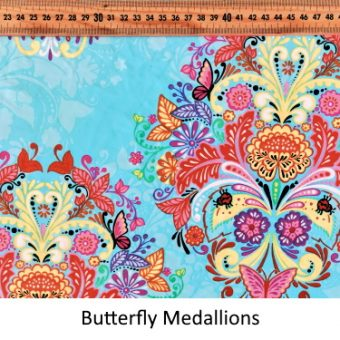 Butterfly Medallions