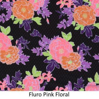 Fluro Pink & Lime Floral