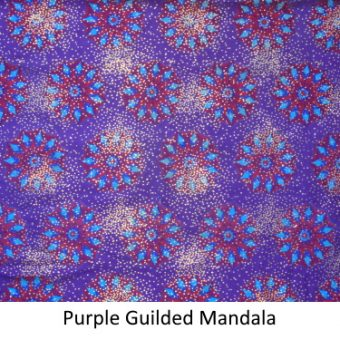 Purple Guilded Mandala