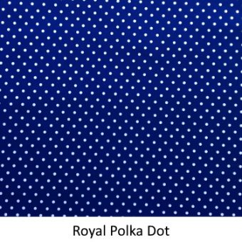 Royal Polka Dot