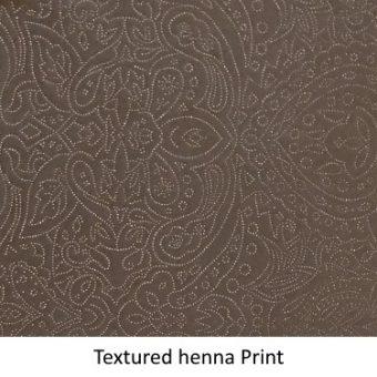 Textured Henna Print